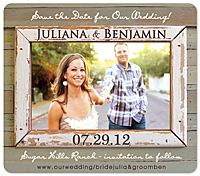 Rustic Love Photo Frame