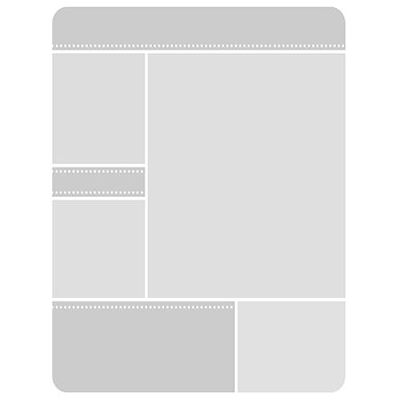 Single Photo Card Template