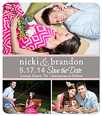 Picnic Save the Date Magnet