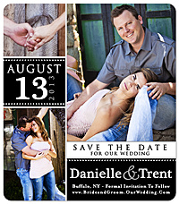 """Splendid Thing"" Save the Date Card"
