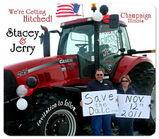 Country Tractor Save the Date