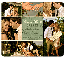 Fairy Tale Theme Save the Date