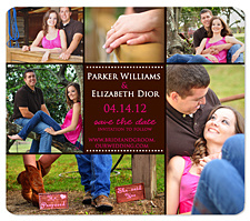 Cowboy Boots Save the Date