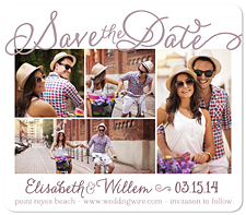 """Sweetest Thing"" Save the Date Card"
