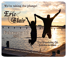 Taking the Plunge Save the Date