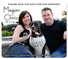 Dog Save the Date