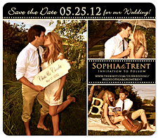 """Day to Remember"" Save the Date Card"
