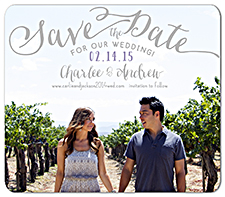 save the date wedding magnets