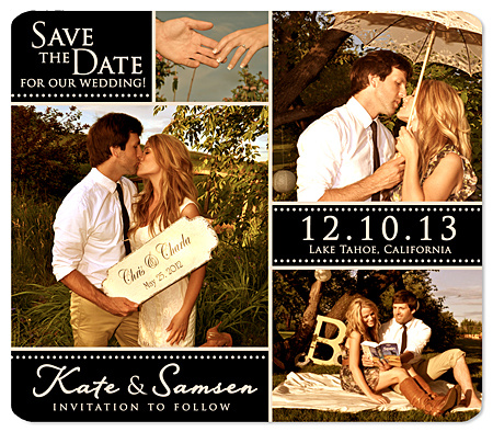 """Some Day is Here"" Save the Date Magnet"