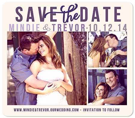 """Countin' the Days"" Save the Date Magnet"