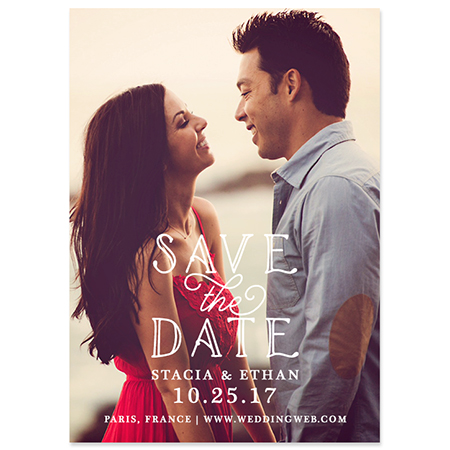 "Hold the Date"" Save the Date Magnet"