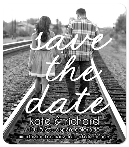 """Not to Be Missed"" Save the Date Magnet"