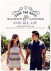 """Newly Established"" Save the Date Card"