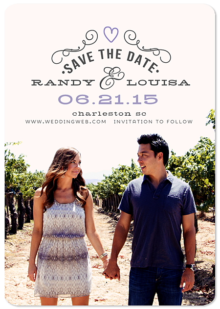 """Newly Established"" Save the Date Magnet"