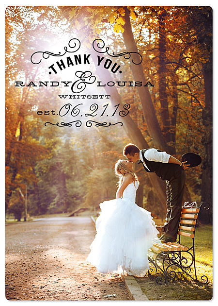Wedding Thank You Magnet