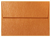 Copper Shimmer Envelope
