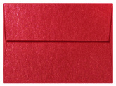 Jupiter Red Shimmer Envelope