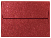 Mars Red Shimmer Envelope