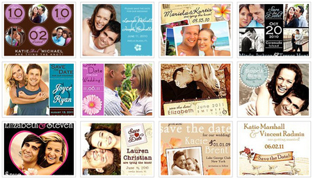 save the date magnets header