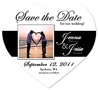 """Stripe"" Save the Date Magnet"
