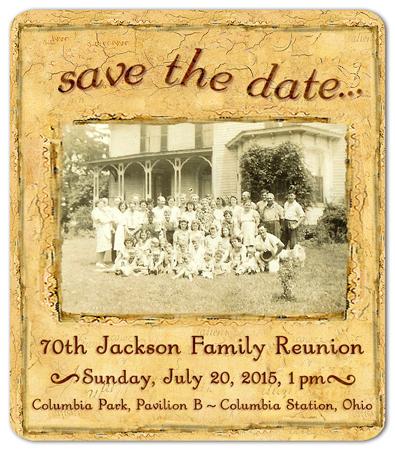 Family Reunion Announcement Idea - Custom Photo Magnet
