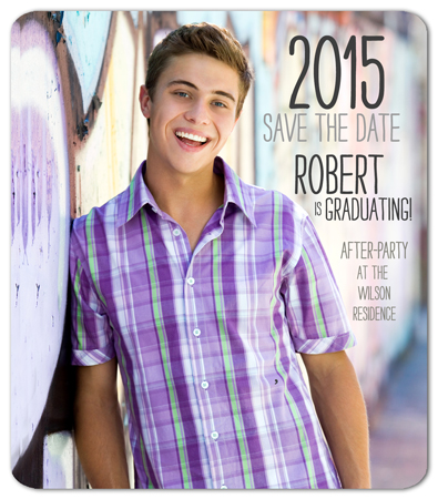 Graduation Announcement Magnet